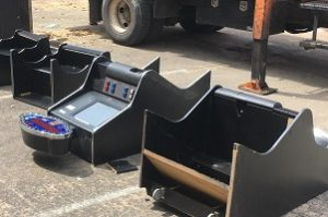 Destructed illegal gambling machines