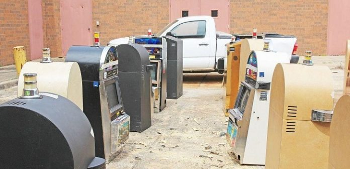 Arkansas Sheriff's Office Destroys Illegal Gambling Machines