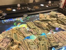 Dozens detained at an illegal gambling parlor in Pomona