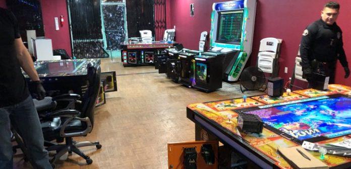 Three arrested at illegal Santa Ana casino