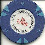 Venezuela casino chip