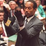 O.J. Simpson with gloves